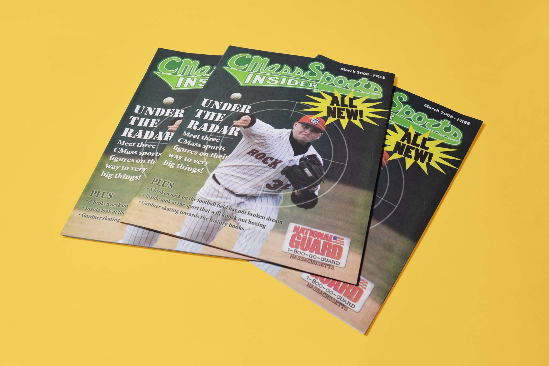 CMass Sports Insider Magazine Covers