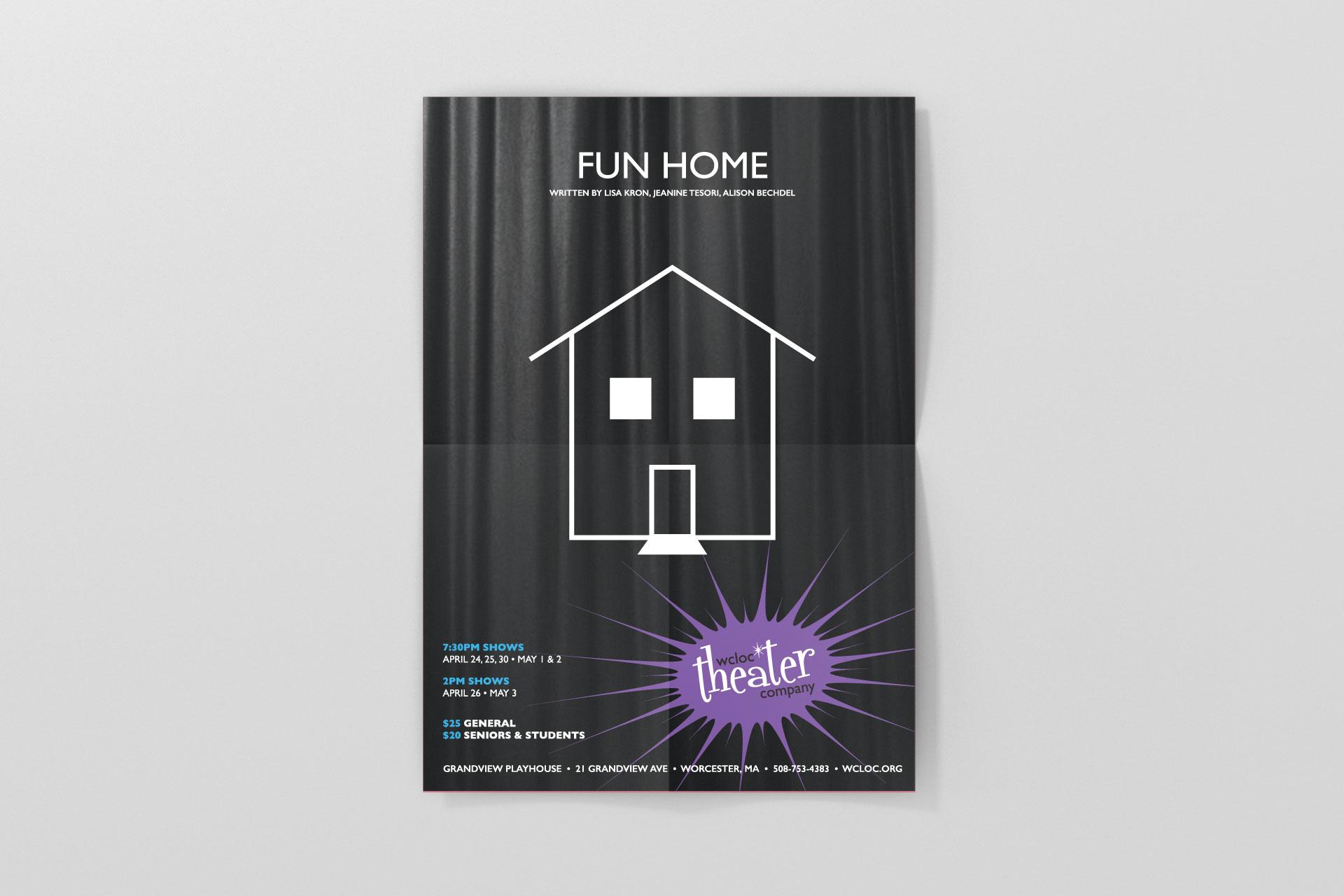 WCLOC Theaterh Poster - Fun Home